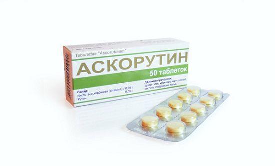 Аскорутин-таблетки
