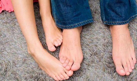 Признаки грибка на ногах межпальцевая инфекция