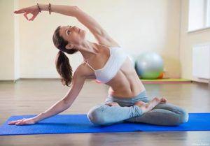 йога для миомы матки