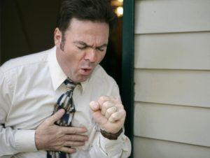 Кашель после инфаркта