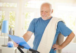 Физические нагрузки после инфаркта