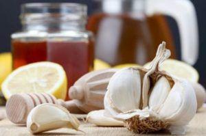 Лимон, мед и чеснок от высокого давления