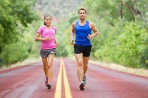 При гипертонии бег