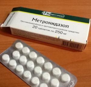 Метронидазол: инструкция по применению