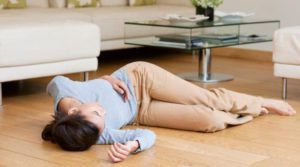 Потеря сознания при высоком давлении