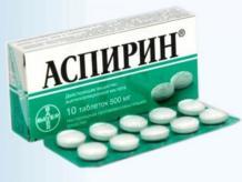 Как действует аспирин на организм человека при повышенном давлении?