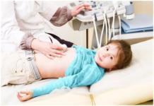 Размеры почек в норме по УЗИ у детей: таблица