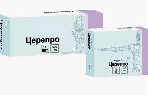 Церепро: инструкция к применению