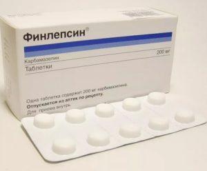 Финлепсин: инструкция по применению