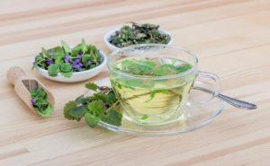 Травяной чай от проблем с нервной системой