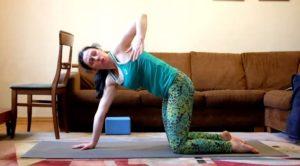 Упражнения для спины при мигрени