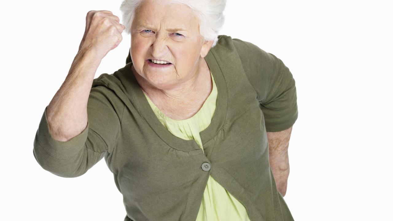 Агрессия при деменции